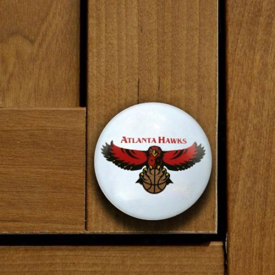 Atlanta Hawks Team Logo Cabinet Knob