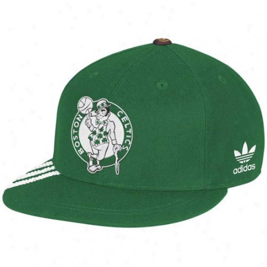 Boston Celtic Caps : Adidas Boston Celtic Green Championship Years Fashion Fitted Caps