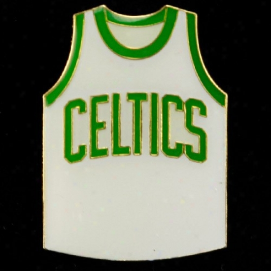 Boston Celtic Caps : Boston Celtic Team Jersey Pin