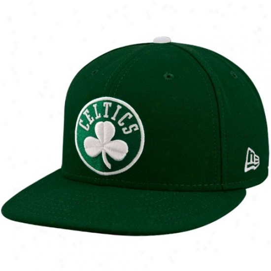 Boston Celtic Merchandise: New Point of time Boston Celtic Green 59fifty Primary Logo Flat Brim Fitted Hat