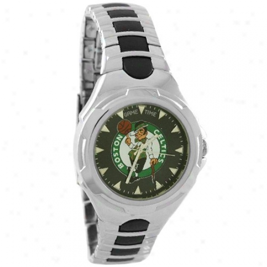 Boston Celtic Watches : Boston Celtic Stainless Steel Victory Watches