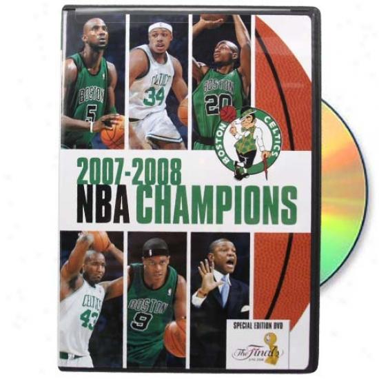 Boston Celtics 2O08 Nba Finals Champions Dvd