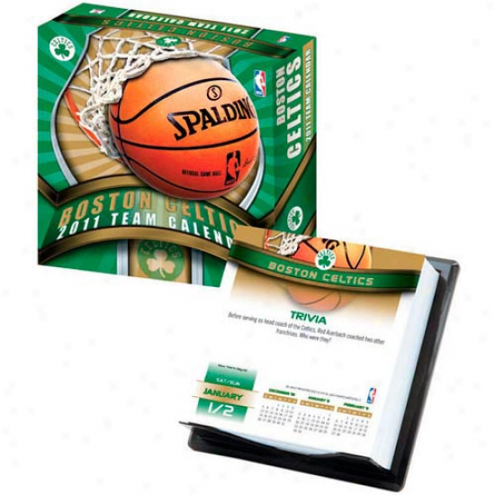Boston Celtics 2011 Boxed Calendar