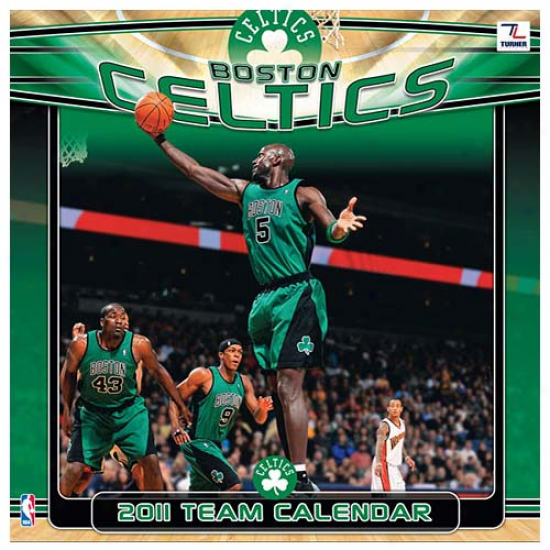 Bsoton Celtics 2011 Wall List