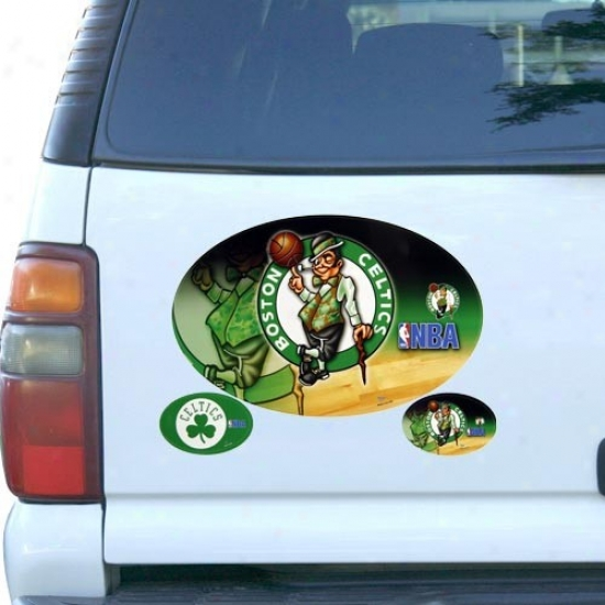 Boston Celtics 3-pack Magnet Set