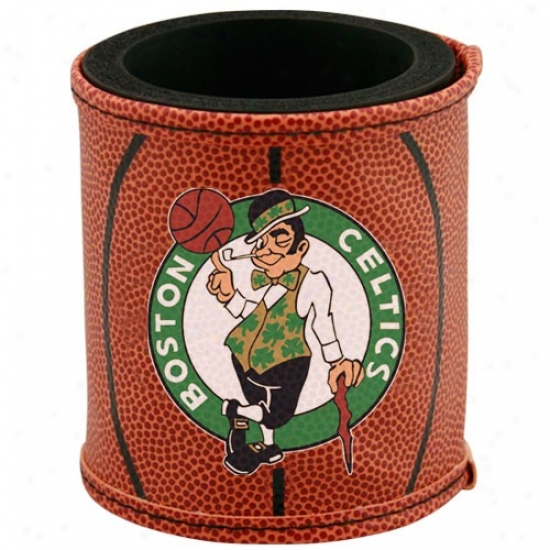 Boston Celtics Brown Basketball Can Coolie