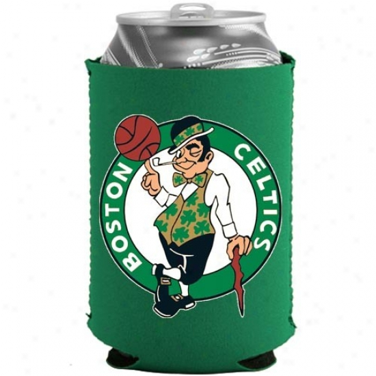 Boston Celtics Green Collapsible Can Coolie