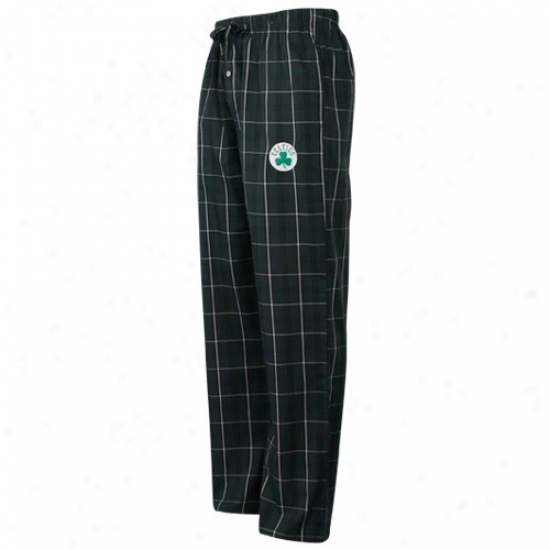 Boston Celtics Green Plaid Genuine Pajama Pants