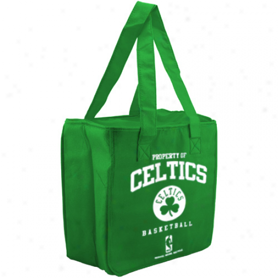 Boston Celtics Gteen Reusable Insulated Tote Bag