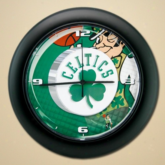 Boston Celtics High Definition Wall Clock