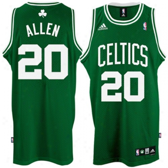 Boston Celtics Jerseys : Adidaq Boston Celtics #20 Ray Allen Green Swingman Basketball Jerseys