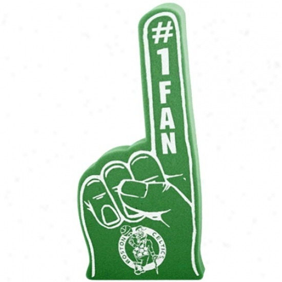 Boston Celtics Kelly Green #1 Fan Foam Finger