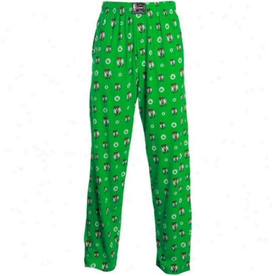 Boston Celtics Kelly Green My Team Pajama Pants