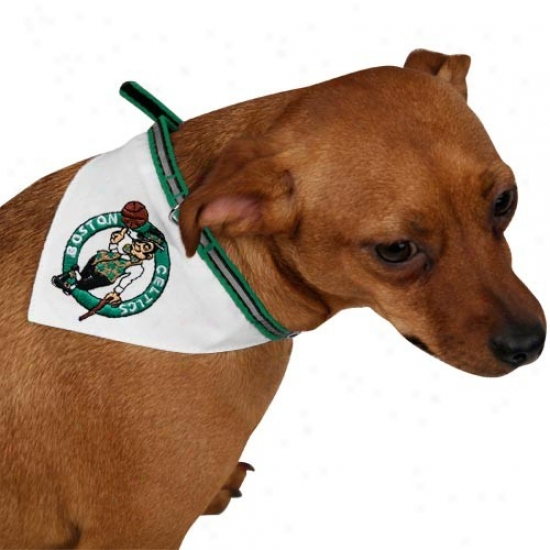 Boston Celtics Pet Collar Bandanna