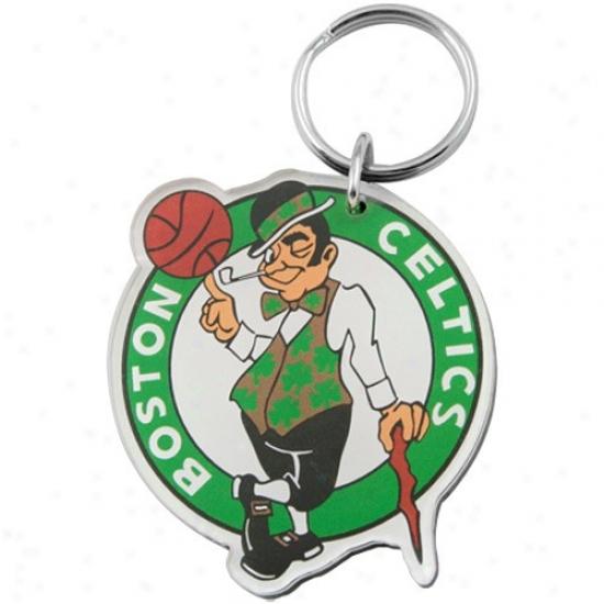 Boston Celtics Team Lofo High Definitiob Keychain