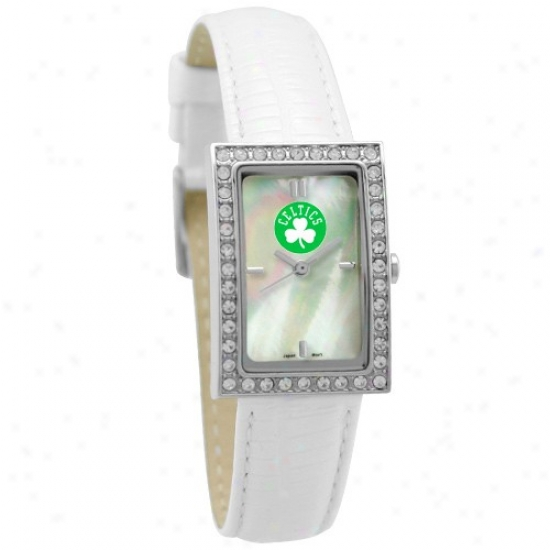 Boston Celtics Wrist Watch : Boston Celtics Ladies Allure Wrist Watch