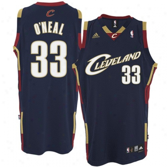Cavaliers Jerseys : Adidas Cavaliers #33 Shaquille O'neal Ships of war Blue Swingman Basketball Jerseys