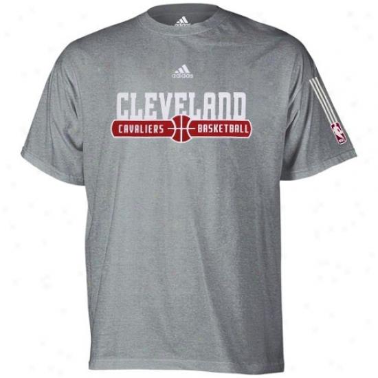 Cavaliers Tshirrt : Adida sCavaliers Ash Ball Horizon Tshirt