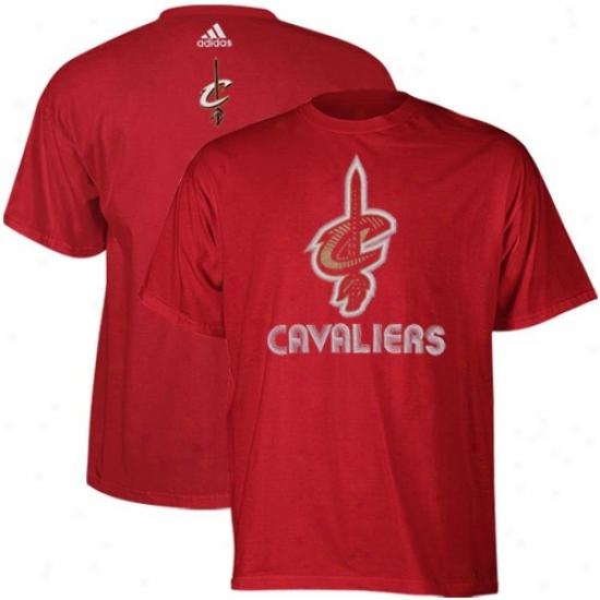 Cavs Tshirt : Adidas Cavs Youth Wine Sonic Boom Tshirt