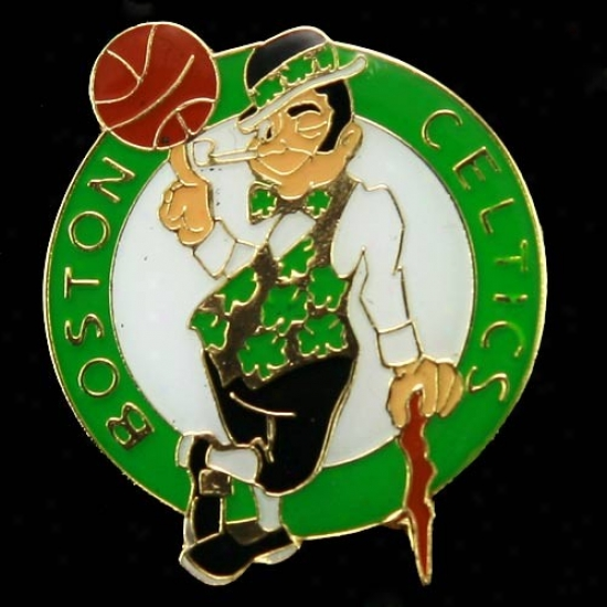 Celtics Caps : Celtics Team Logo Pin
