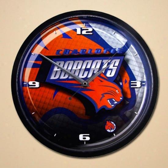 Charlotte Bobcats 12'' Wall Clock
