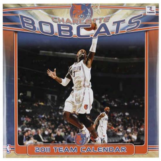 Charlotte Bobcats 2011 Wall Calendar