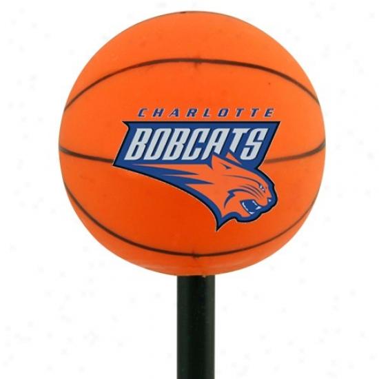 Charlotte Bobcats Basketball Antenna Topper