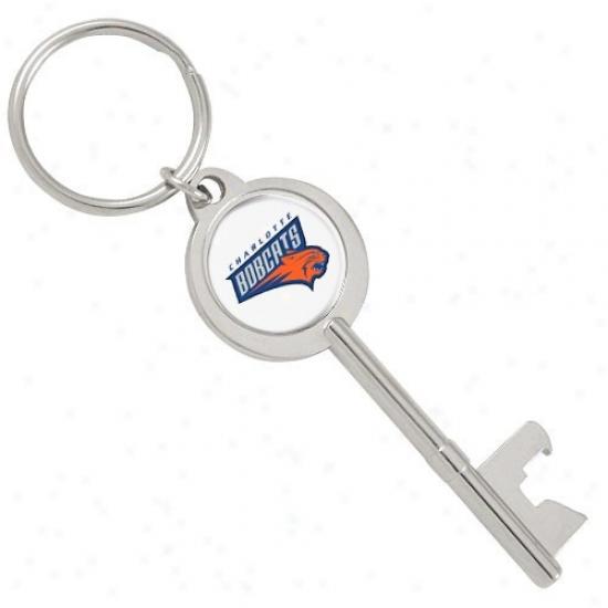 Charlotte Bobcats Key Bottle Opener Keychain