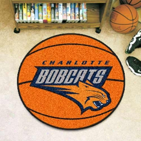 Charlotte Bobcats Orange Rounx Basketball Mat
