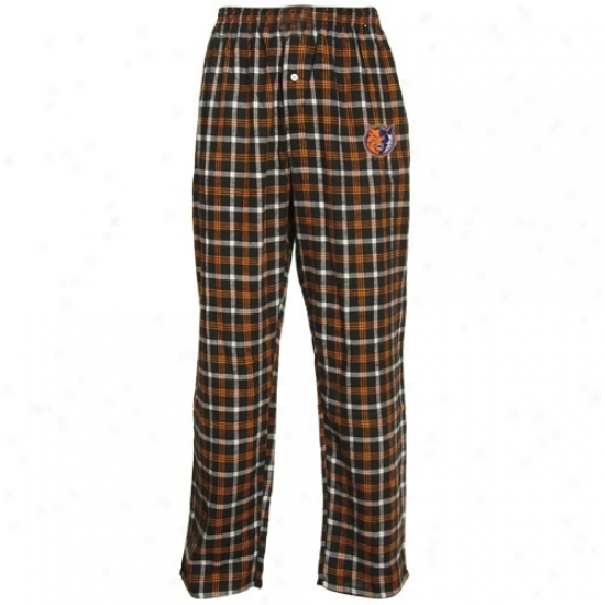Charlotte Bobcats Orange Tailgate Pajama Pants