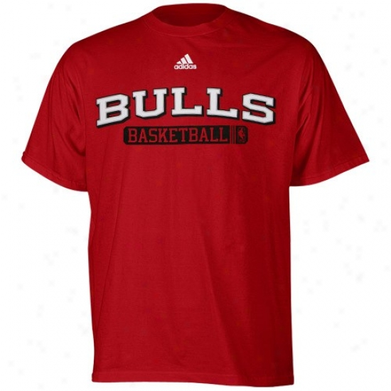 Chicago Bull Attire: Adidas Chicagl Bull Red Kappa Sigma T-shirt