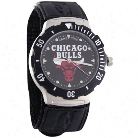 Chicago Speculator on a rise Watch : Chicago Bull Black Agent V Watch