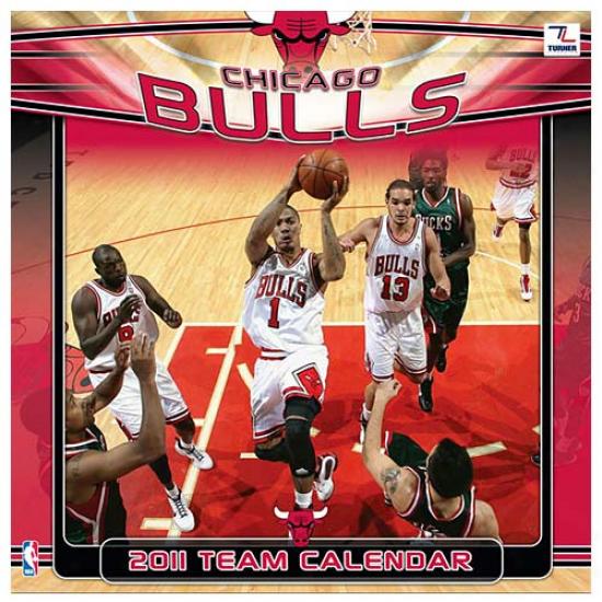 Chicago Bulls 2011 Wall Calendar
