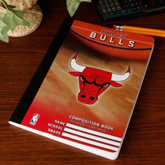 Chicago Bulls Composition Notebook