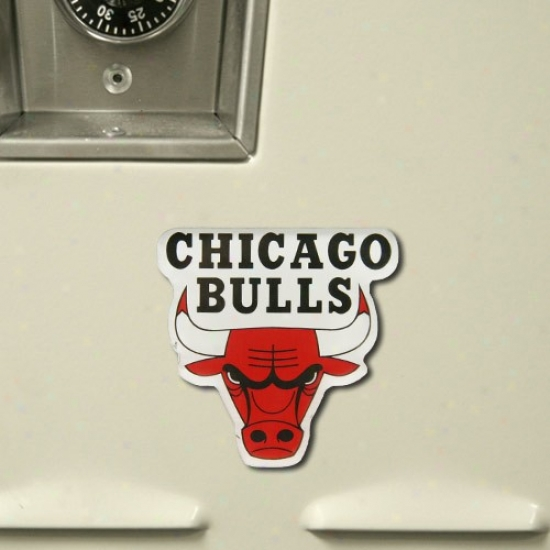 Chicago Bulls High Definition Magnet