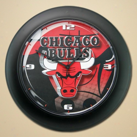 Chicago Bulle High Definition Wall Clock