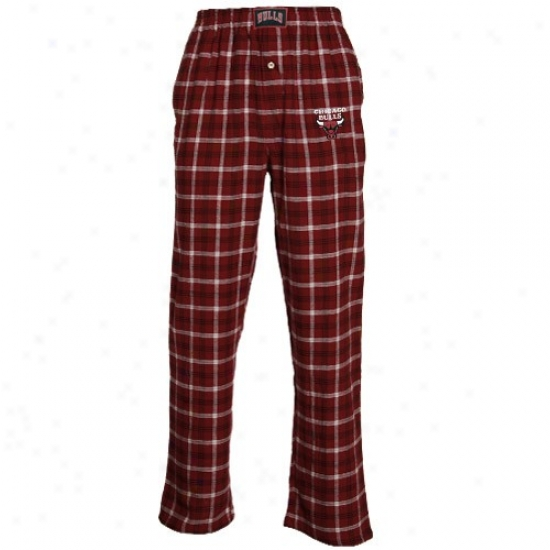 Chicago Bulls Red Tailgate Pajama Pants