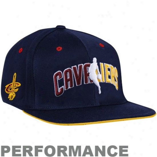 Cleveland Cav Hat : Adidas Cleveland Cav Navy Blue Official Draft Day Fitted Hat