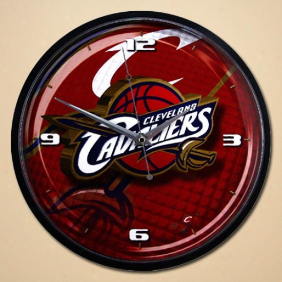 Cleveland Cavaliers 12'' Wakl Clock