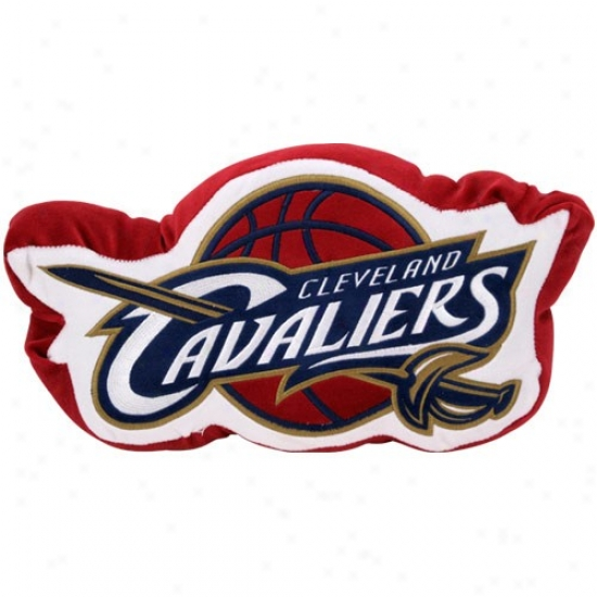 Cleveland Cavaliers 14-inch Team Logo Plus Pillow