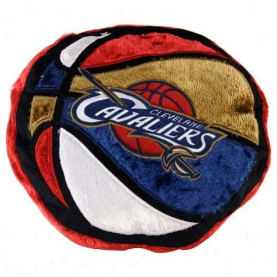 Cleveland Cavaliers 14'' Team Logo Plush Pillow
