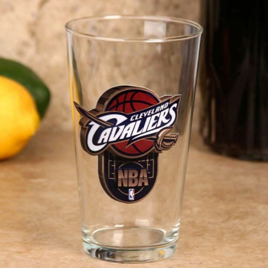 Cleveland Cavaliers 17 Oz. Enhanced Hi-def Mixing Glass