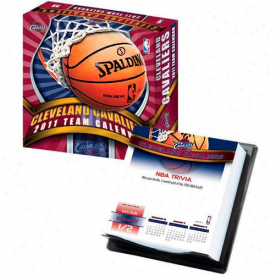 Cleveland Cavaliers 2011 Boxed Calendar