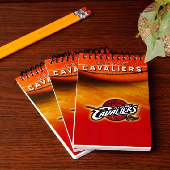 Cleveland Cavaliers 3-pack Team Memo Pads