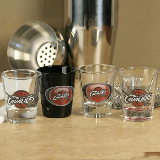 Cleveland Cavaliers 4-pack Vortex Shot Glass Set