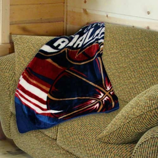"""cleveland Cavaliers 50""""x60"""" Royal Plush Blanket Throw"""