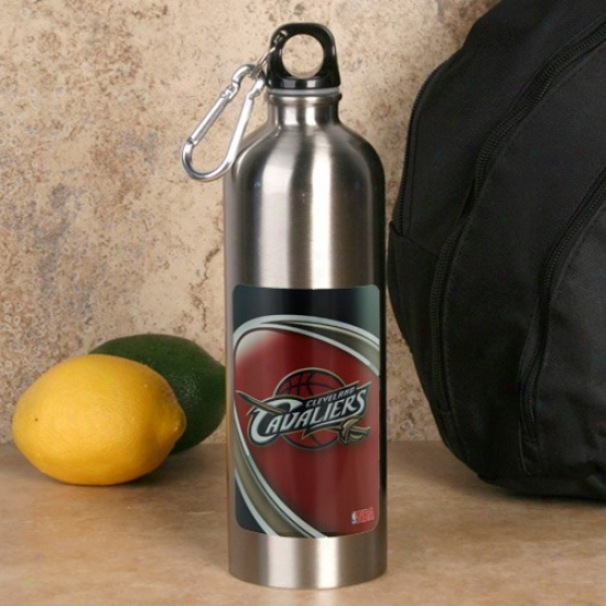 Cleveland Cavaliers 750ml Stainless Steel Water Bottle W/ Carabiner Clip