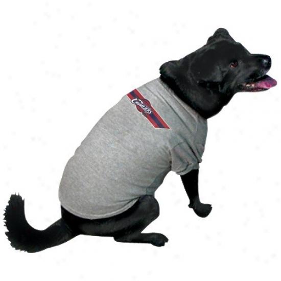 Cleveland Cavaliers Ash Logo Pet T-shirt