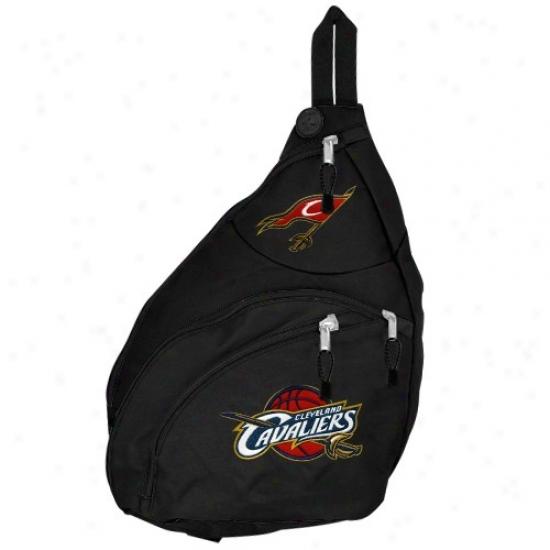 Cleveland Cavaliers Black Slingshot Backpack