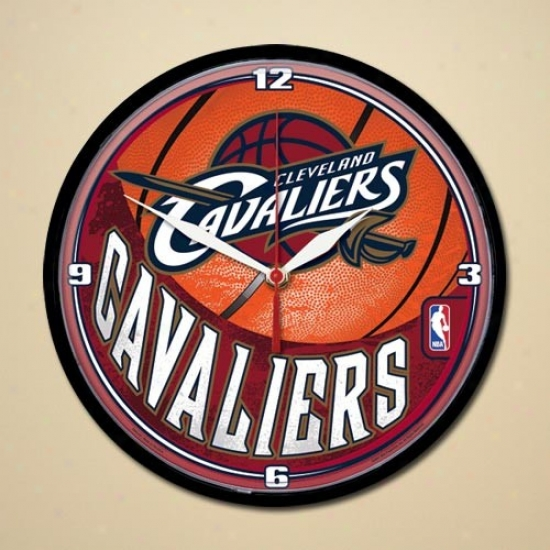 Cleveland Cavaliers Dimension Wall Clock